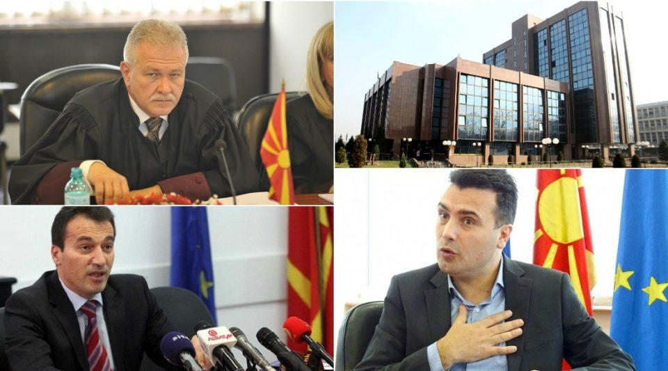 """Заев побара, Заев доби разрешување на Вангеловски: Кој ги пренесе денес неговите пораки до """"независното"""" судство ?"""