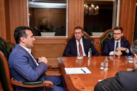 Мицкоски: Лидерска за Законот за ЈО ќе има во вторник, ќе го отворам прашањето за предвремени избори