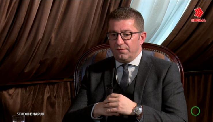 Мицкоски: Убеден сум во победа на изборите и формирање на нова влада