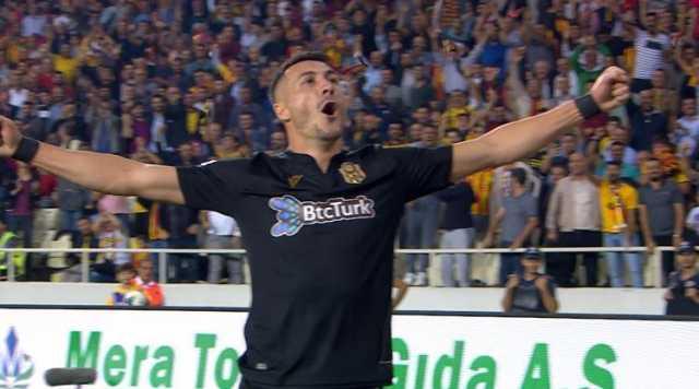 Јаховиќ е петти фудбалер во оваа деценија кој дал четири гола во турската Суперлига (ФОТО)