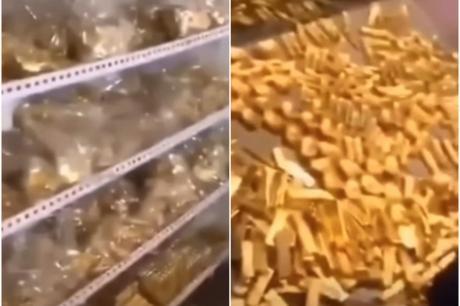 ВИДЕО: Во подрумот на кинески политичар нашле злато кое може и Грција да ја спаси од криза – му се заканува смртна казна