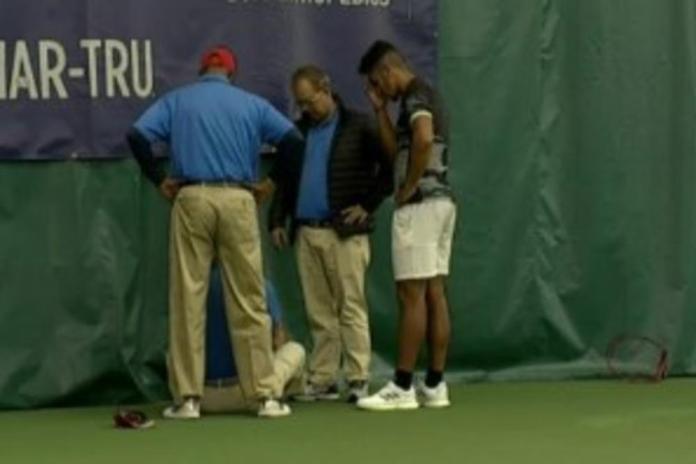 Невидено: Тенисер безмилосно удри судија со рекет (ВИДЕО)
