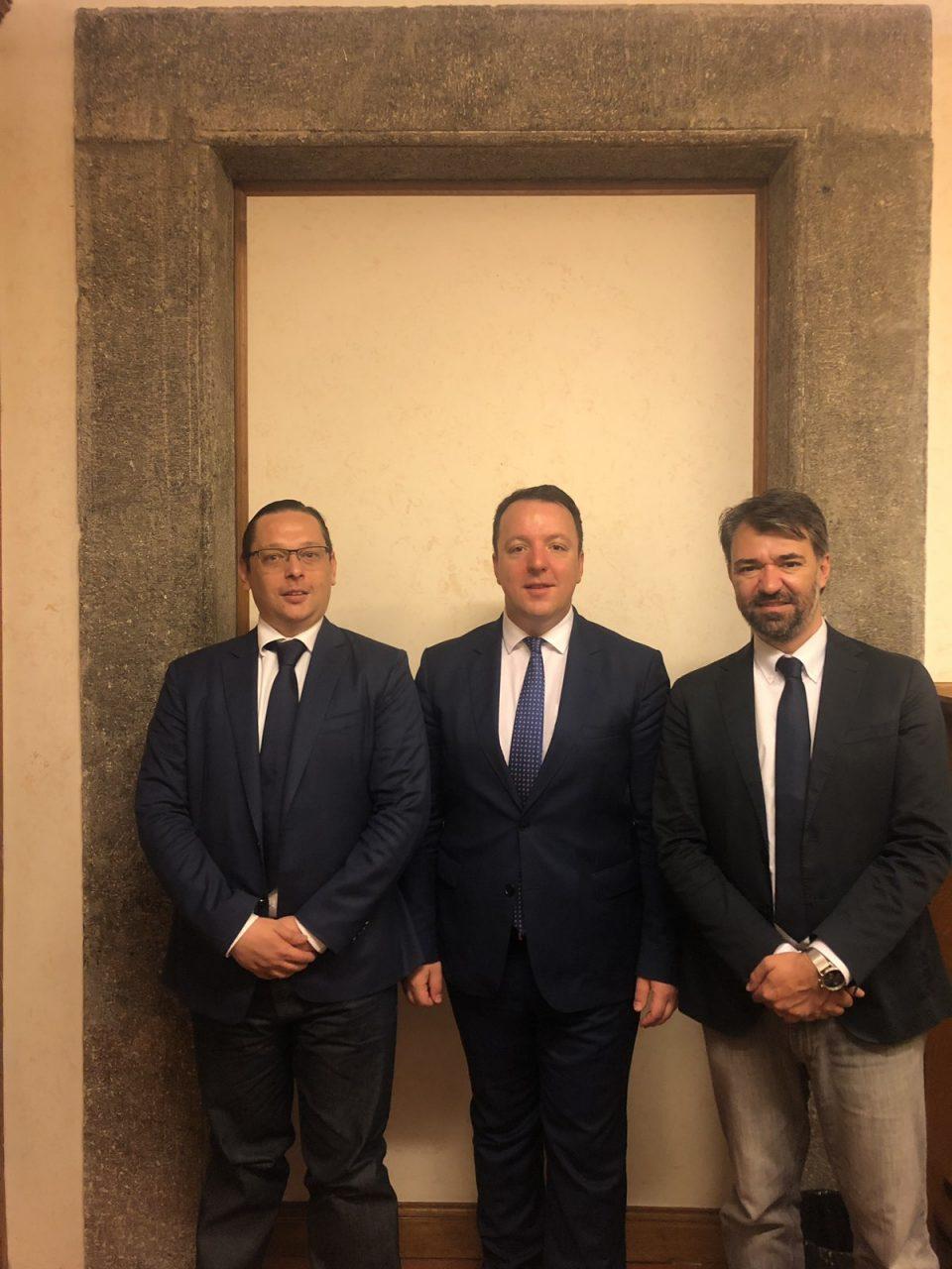 Николоски на средба со Сенаторите Кандура и Пелегрини од партијата Лега на Салвини