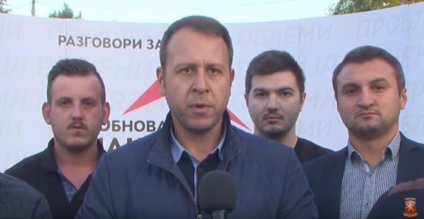 Јанушев од Чашка: Заев паѓа, а Македонија почнува со обновата