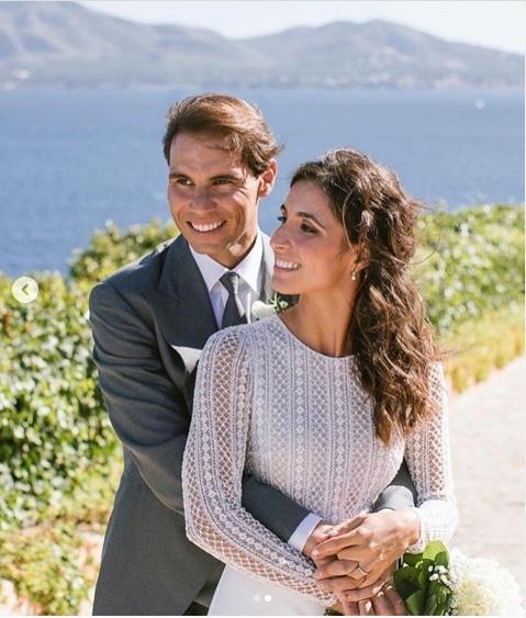 Протекоа детали од венчавката: Фотографиите од Надал и Марија го воодушевија светот (ФОТО)
