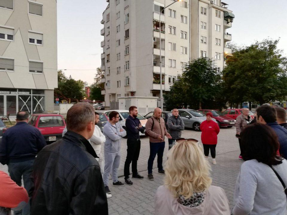 ФОТО: Општинскиот комитет на ВМРО-ДПМНЕ во Аеродром оствари средба со жителите на Стар Аеродром- граѓаните се заборавени од Златко Марин