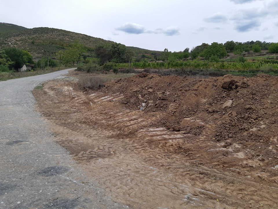 Се проширува патот до село Раец во Кавадарци