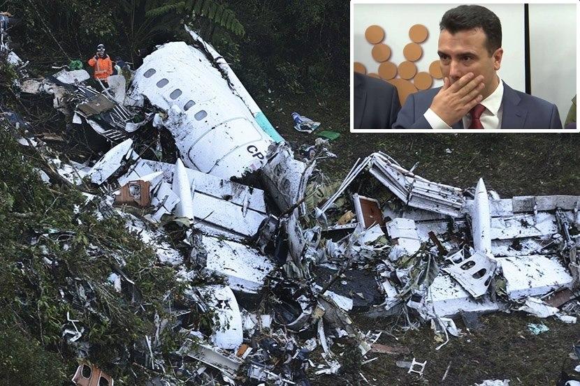 """""""Авионот на Заев паѓа, пилотите се катапултираа""""!!!"""