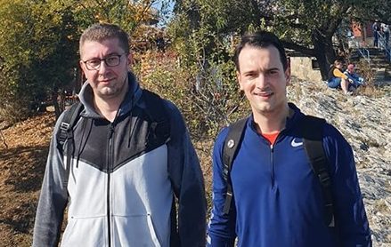 Мицкоски и Нелоски со порака: Подготвени за лидерска, уште повеќе за избори!