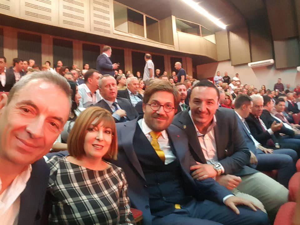 Борко Ристовски со честитка по повод 23 октомври: Заедно за обнова на Македонија
