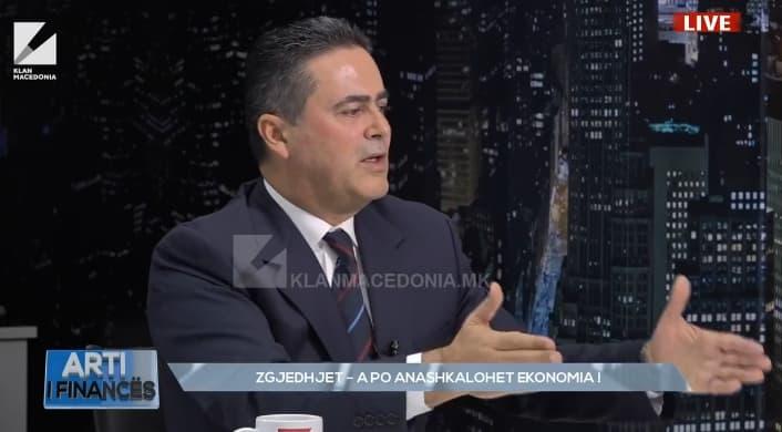 Селмани: Во последните три години има застој во капиталните инвестиции економијата, тоа се надевм ќе заврши после 12 април