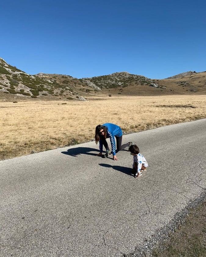 ФОТО: Катарина Ивановска објави преслатки фотографии со синчето