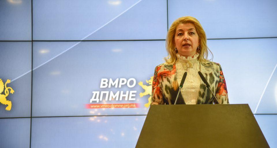 Ласовска: Одговорноста што нема датум за преговори со ЕУ е кај владата, не е време за упатување на критики за Франција!