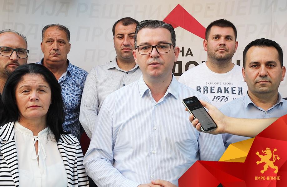 Трипуновски: Пишуваме програма со народот, со народот ќе ја обновиме Македонија