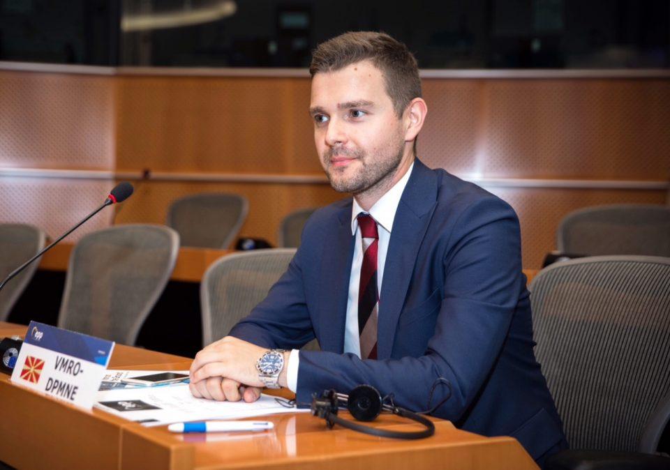 Муцунски после завршената посета на Брисел: ВМРО-ДПМНЕ има поддршка да формира Влада која ќе го забрза евроинтрграцискиот процес