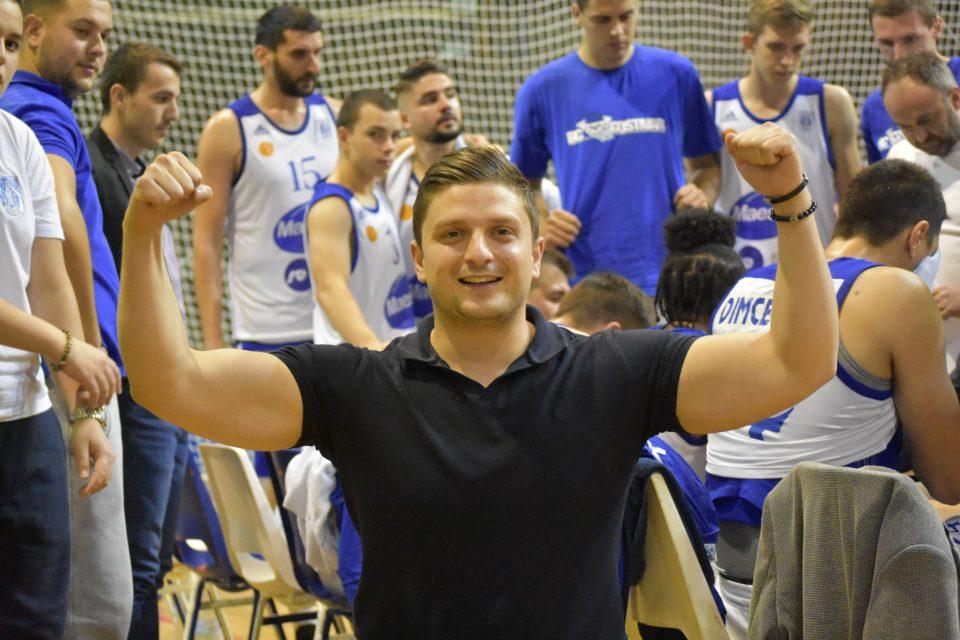 Перо Пандилоски најверен поддржувач на кошаркарите од својот град