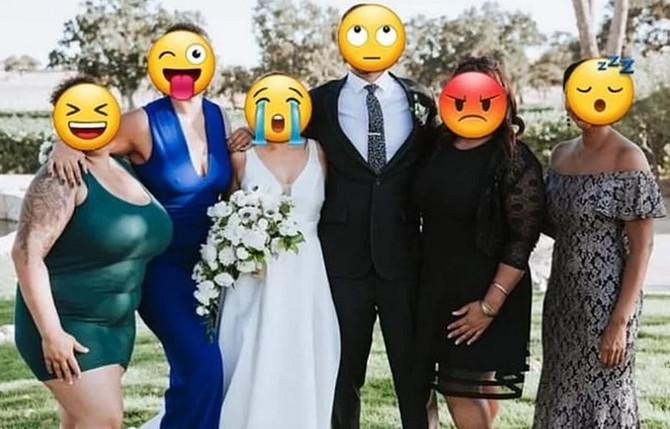 """""""Некој нека ѝ ги отстрани градите и стомакот"""": Невеста побарала помош за поправање на фотографија од свадба, па стана хит на интернет"""