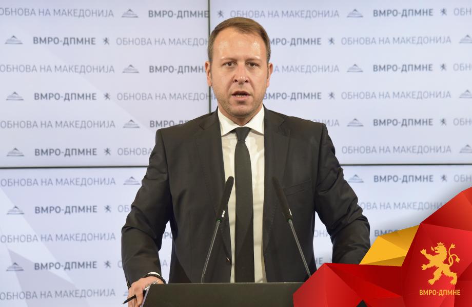 Јанушев: Граѓаните не сакаат да гледаат како Македонија се уназадува под власт на Заев