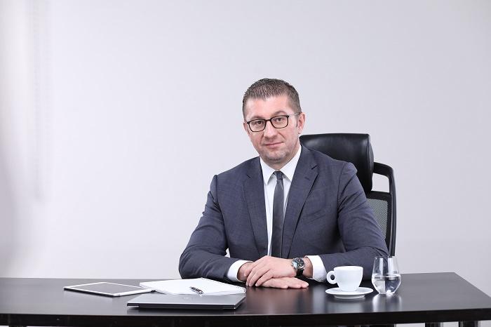 Мицкоски за Заев: Видовме уплашен човек соочен со своите неуспеси, бараме избори за обнова на Македонија