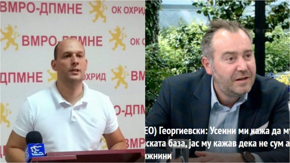 Донев до Георгиески: Зошто да бидеш агенција за недвижности, кога можеше да бидеш решителен градоначалник?