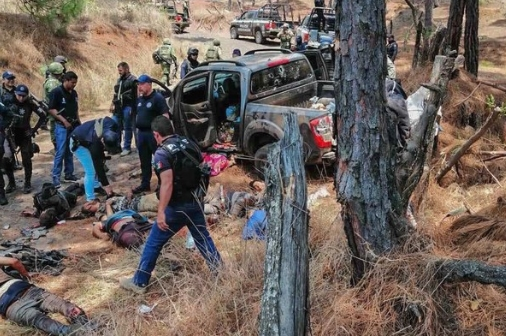 Пронајдени осакатени тела на 9 мажи- пресметка меѓу криминални банди