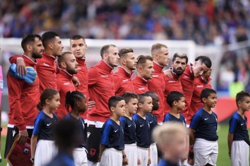 Франција казнета од УЕФА поради пропуст со албанската химна