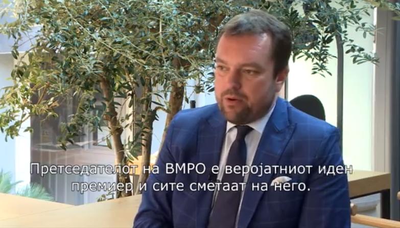 Гајзер: Мафијашки систем владее со Македонија, Заев не знае да води држава, а Мицкоски е иден премиер и сите сметаат на него