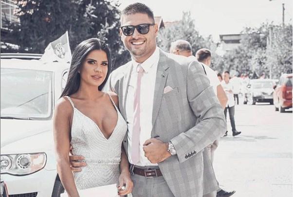 """Бившиот на Пријовиќ се жени за фаталната водителка од ТВ """"Хепи"""" (ФОТО)"""