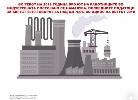 Комисијата за финансии на ВМРО-ДПМНЕ: Политичката нестабилност, недостатокот од владеење на право и високото ниво на корупција создаваат сериозни проблеми за македонската индустрија