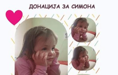 Симона има 4 годинки и е потребна помош! Да помогнеме!