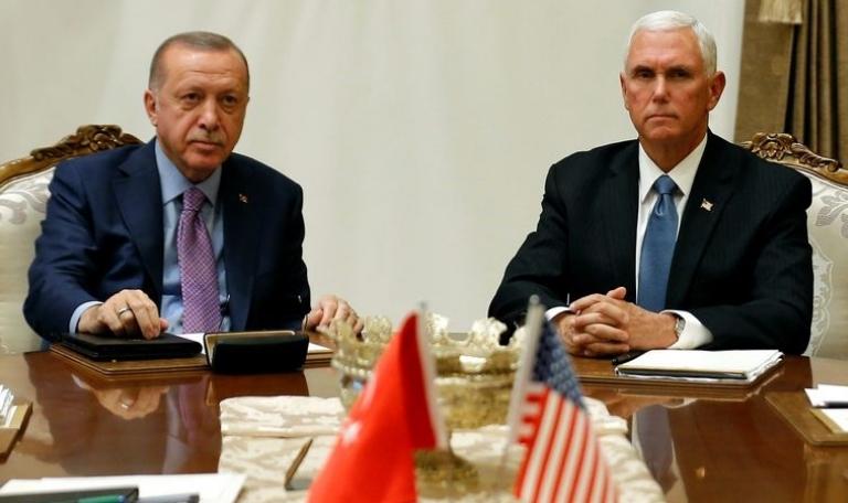 Турција ја прекина офанзивата во Сирија – Ердоган и Пенс пет часа се договарале