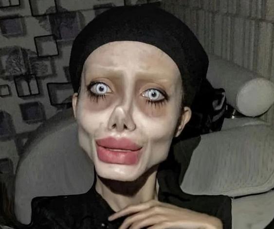 Позната е како Хорор Анџелина Џоли, неодамна беше уапсена, а еве како изгледа без шминка (ФОТО)