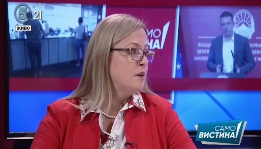 """Стојаноска: Ако одиме по изјавите на премиерот до сега кажани па порекнати, не би се осудила да тврдам дека тој прв го пријавил случајот """"Рекет"""""""