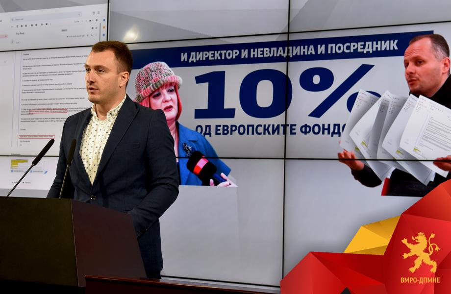 Андоновски: СДСМ не ги пустоши само парите на македонските граѓани, туку и парите на европските даночни обврзници кои треба да бидат наменети за развој на образованието