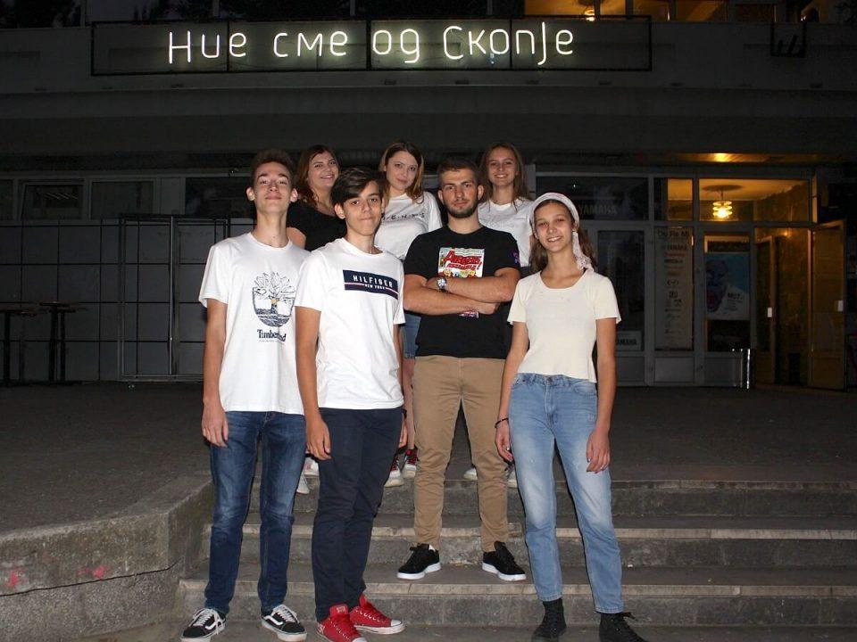 """ФОТО: Средношколци од Македонија учествуваа на """"FIRST Global Challenge""""- настан кој ги инспирира  идеите за иновации кај младите"""