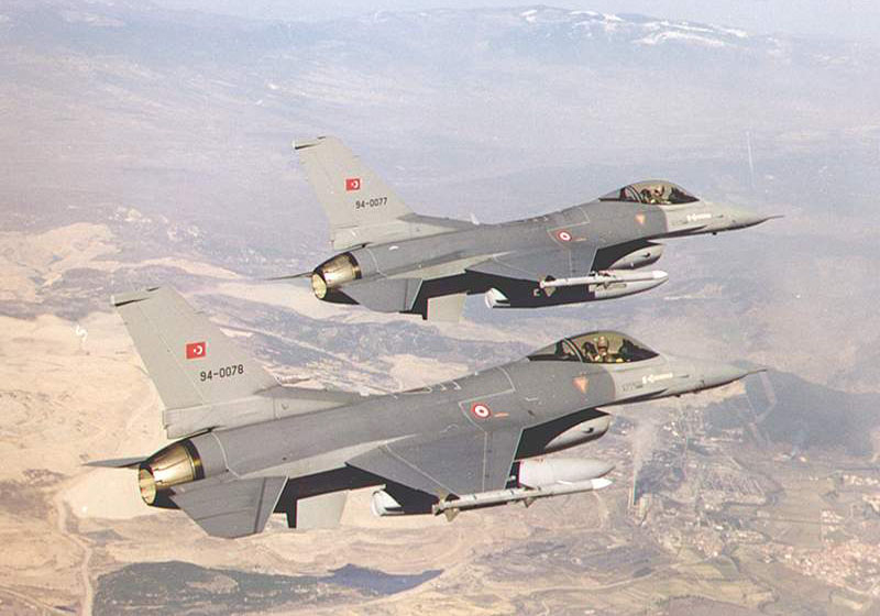 Турски Ф-16 влегоа во Грција