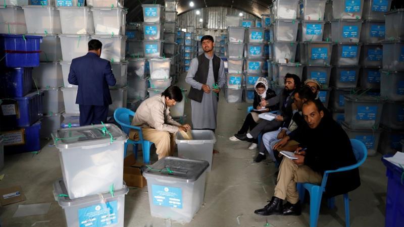 Резултати од претседателските избори во Авганистан на 14 ноември