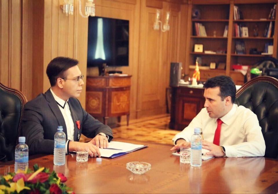 """ВМРО-ДПМНЕ: """"Рекет"""" е доказ за криминогеноста на Заев и власта, развлекувањето на случајот е доказ дека тој е главата на октоподот"""