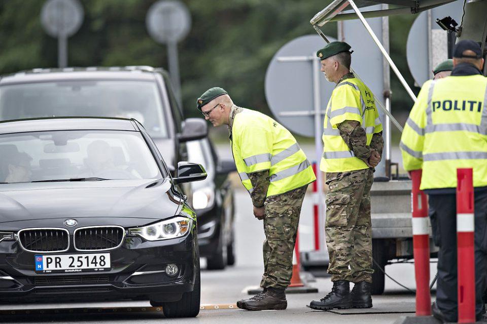 Привремени гранични контроли на границата помеѓу Данска и Шведска