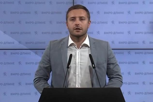 Арсовски: Ременски мора да се повлече од функцијата пратеник за да овозможи истрагата да се одвива без никакви влијанија