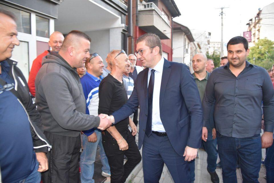 Мицкоски од Кисела Вода: Почнуваме со отворен ден во штабовите на ВМРО-ДПМНЕ, постои огромна поддршка од граѓаните за обнова