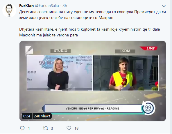 Гори твитер: Заев да не си дава оставка, нема да се најде друг што ќе каже дека Делчев е Блгарин