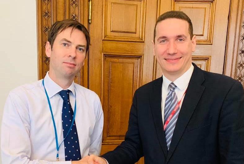 Ѓорчев во Форин офисот во Лондон: Силно ќе ги развиваме односите со Велика Британија, како и сојузништвото со НАТО и ЕУ земјите