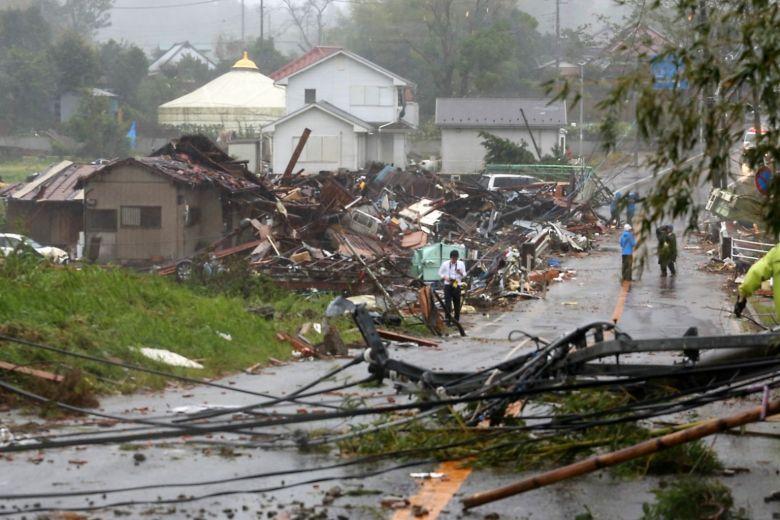 Најмалку 36 жртви на тајфунот Хагиби во Јапонија