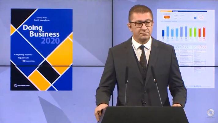Мицкоски: Неуспешноста на власта удира по џебот на народот, носи несигурност и го уништува бизнисот