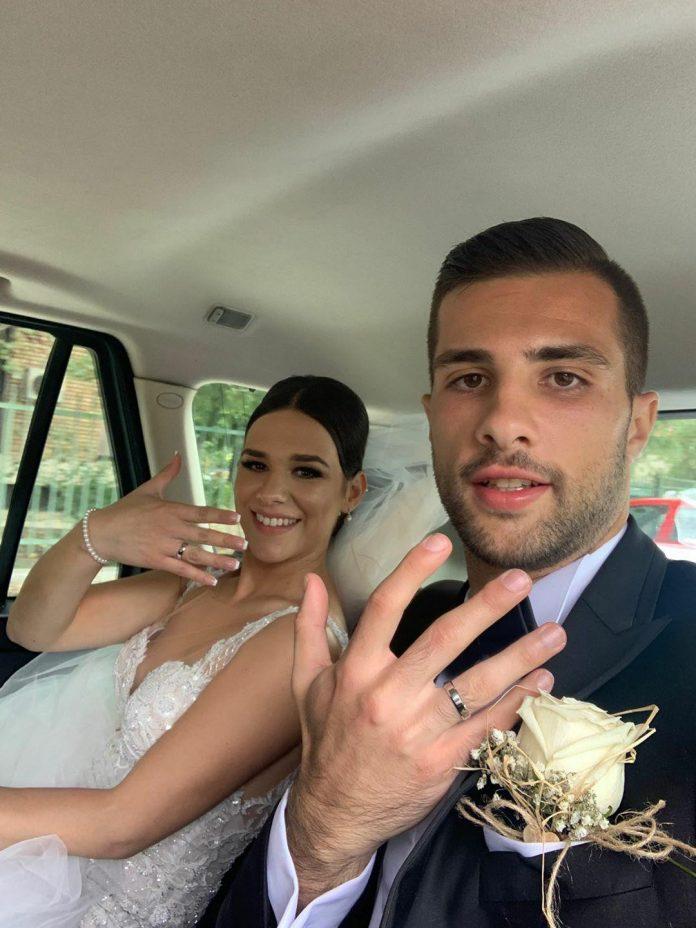 ФОТО: Се ожени голманот Игор Алексовски
