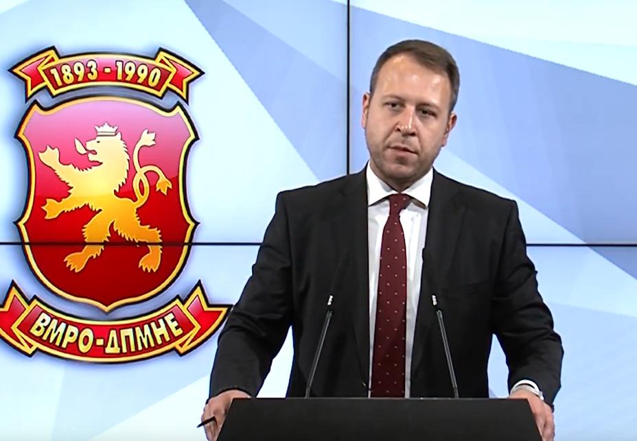Јанушев: Се сомневаме дека Заев е спремен да не го спроведува законот, затоа не набавува фингерпринт терминали, сака да прави изборен фалсификат