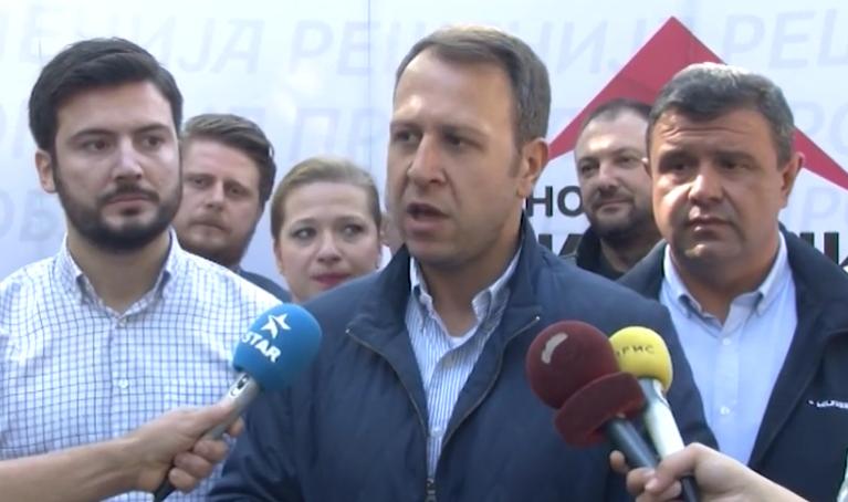 Јанушев: Со објавувањето на датумот за избори крајот на Заев се гледа, власта паѓа