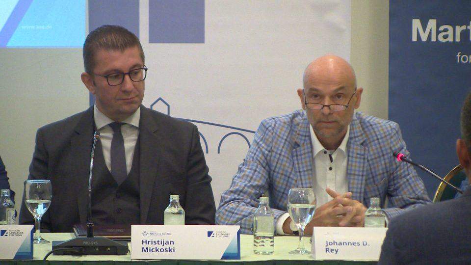 Претставникот на Конрад Аденауер до ВМРО-ДПМНЕ: Не не` заборавајте кога ќе дојдете на власт