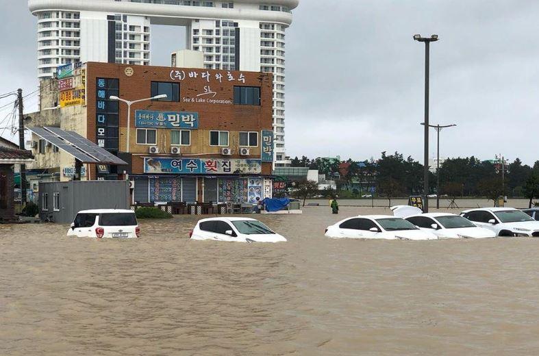 Во тајфун во Јужна Кореја загинаа шест лица